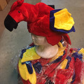 Buy Now: Colorful Parrot Hat  Lot of 36