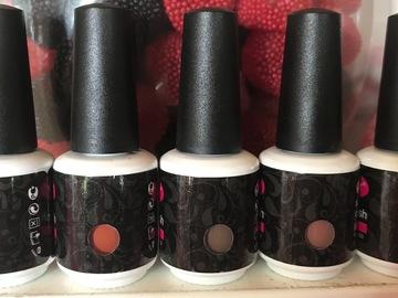 Venta: Lote 5 esmaltes gel para lámpara UV&LED