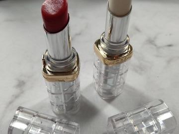Venta: Labial color riche shine loreal los dos por 5€!