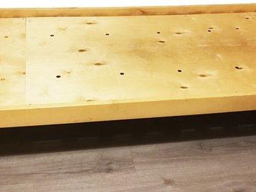 Myydään: Wooden Bed