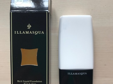 Venta: Illamasqua Rich Liquid Foundation RF100 Blanco- (O CAMBIO)