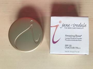 Venta: Jane Iredale Amazing Base SPF20 -  Ivory  (O CAMBIO)