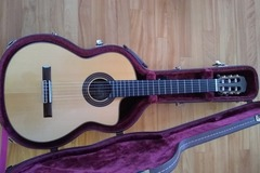 Selling: New World Player Cutaway classical guitar