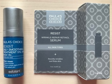 Venta: Paula's Choice Resist 5% AHA + Resist Retinol Serum Travel Size