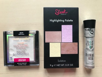 Venta: Pack Iluminadores Sleek, Wet'n Wild goth-o-graphic, Hard Candy
