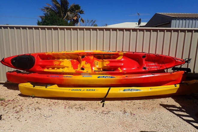 Kayak – Sit-on-top Double with rudder - Quipmo