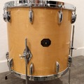 "Selling with online payment: Gretsch 1970's Natural Maple 18"" Floor Tom, Stop Sign Badge"