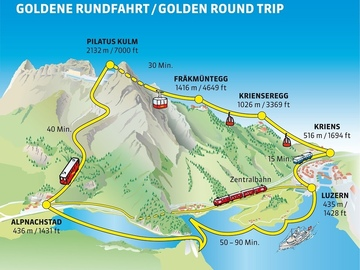 Offering with online payment: Luzern Mount Pilatus round trip with private local guide