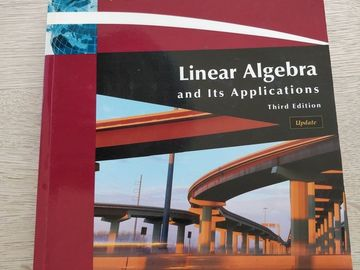 Myydään: Linear Algebra and Its Applications