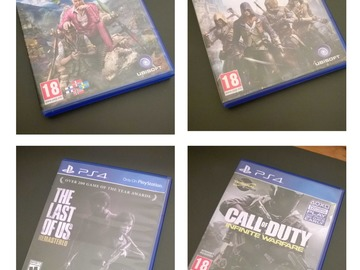 Selling: PS4 games