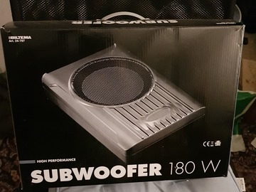 Selling: Active Subwoofer for car