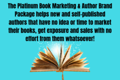 Coaching Session: Platinum Book Marketing & Author Brand Package