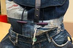 Vente au détail: Sac en jeans