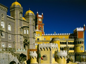 Offering with online payment: Sintra Palace and Cascais