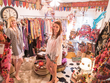 Book a Spree: Example: Boho Chic Tour, Fortitude Valley