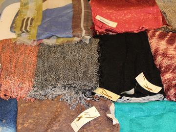 Liquidation/Wholesale Lot:  48 Piece High Quality Brand Name Shawl Wraps