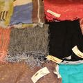 Liquidation Lot:  50 Piece High Quality Brand Name Shawl Wraps