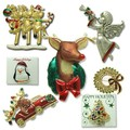 Buy Now: 100--Christmas Pins-- Department Store Quality $1.25 pcs