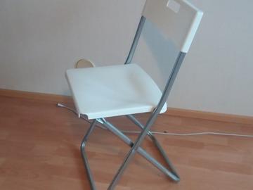 Myydään: Ikea chairs whites 3 k