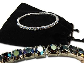 Buy Now: 40-Genuine Swarovski Aurora Borealis Bracelets- $2.99 ea