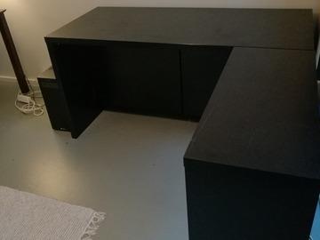 Myydään: Desktop made of heart wood