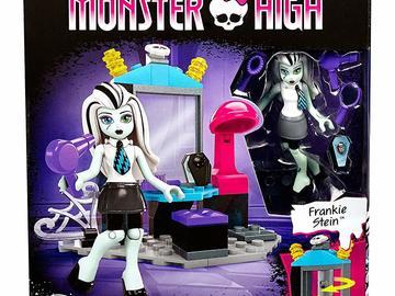 Liquidation Lot: Monster High Teen Scream Salon: Mega Bloks Toy