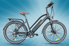 Daily Rate: SOLAR BIKE Olive - Ebike - (Weekly Rate)