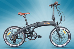 Daily Rate: SOLAR BIKE Folder - Ebike - (Weekly Rate)