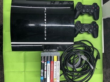 Myydään: PlayStation 3 plus a bunch of games