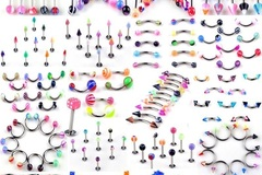 Buy Now: (396) Mix-Body Piercing Jewelry & Fashion Rings-PRICE DROP!!
