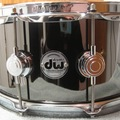 VIP Members' Sales Only: DW Collectors Series Snare Drum Black Nickel Over Brass w/Chrome