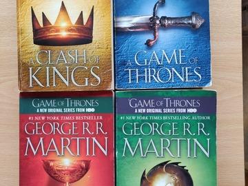 Myydään: GOT BOOKS