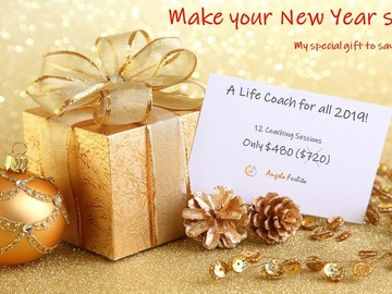 Coaching Session: Make your New Year shine with a Coach for all 2019! 12sess $480