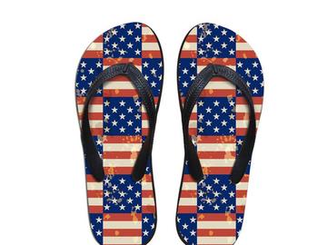 Vente avec paiement en ligne: Chaussures De Mode ROYAUME-UNI ETATS-UNIS Drapeau Puzzle