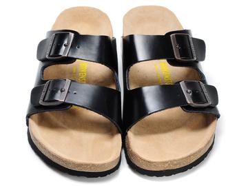 Vente avec paiement en ligne: D'origine Birkenstock Pantoufles D'été Pour Hommes Arizona Sandal
