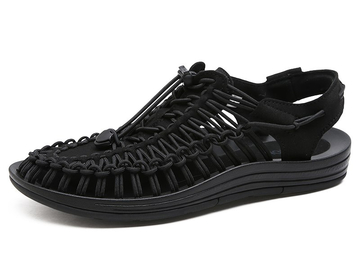 Vente avec paiement en ligne: Nouveau arrivé été sandales hommes chaussures qualité confortable
