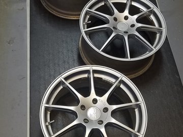 Selling: OZ RACING Omnia Wheels / Rims- 18 x 8 - Bright Race Gray - Audi /