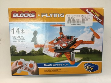 Selling: Blocks, DIY  flying Quadcopter