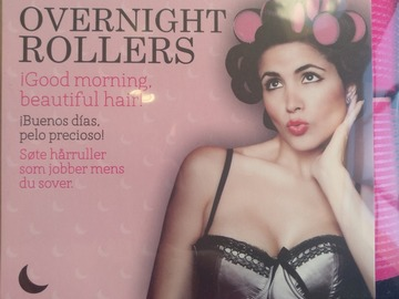 Venta: Overnight rollers