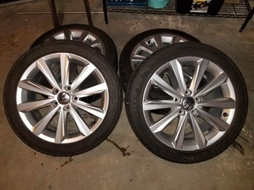 Selling: Volkswagen 18in 5x100 Set of 4 with Tires