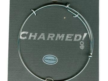 Buy Now: 30 Charmed  Bracelet w/Sterling Silver Charm $4.25 ea PRICE CUT