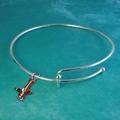 "Liquidation/Wholesale Lot: 30 ""Charmed"" Bracelets-w/Sterling Silver Charm-$4.25 ea PRICE CUT"