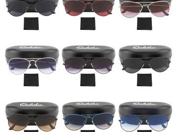 Buy Now: Brand New 100 Sunglasses Hard Case Mix of Aviator and Wayfarer