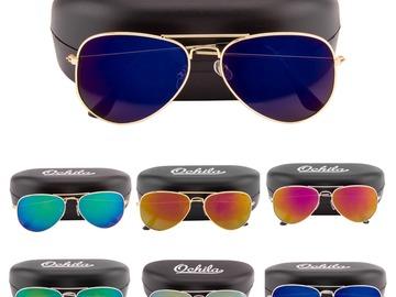 Buy Now: Brand New 25 Sunglasses Hard Case Mix of Aviator and Wayfarer