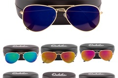 Buy Now: Brand New 50 Sunglasses Hard Case Mix of Aviator and Wayfarer