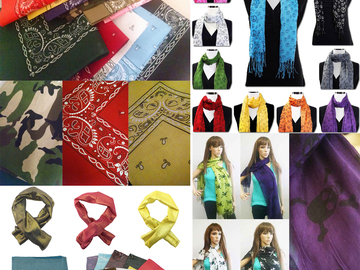 Buy Now: Temporary Mask Prevent Spread Corona Virus 100 assorted Scarves