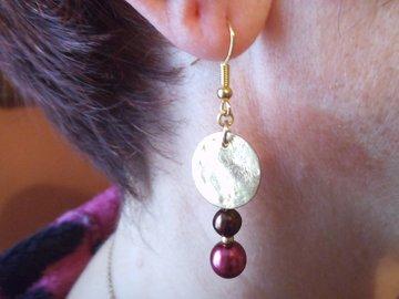 Sale retail: Boucles d'oreilles mon beau Miroir.