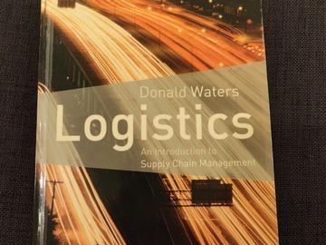 Selling: Donald Waters: Logistics