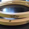 "Selling with online payment: Pair Yamaha ""Vintage"" wood hoops 13 inch"