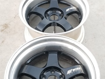 Selling: 19 inch Work Meisters 5x114